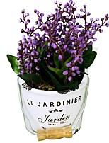 Недорогие -Искусственные Цветы 1 Филиал Классический Современный современный Вечные цветы Ваза Букеты на стол