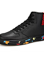 Недорогие -Муж. Комфортная обувь Полиуретан Весна На каждый день Кеды Нескользкий Камуфляж Черный / Красный