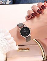 Недорогие -Жен. Нарядные часы Кварцевый Кожа Зеленый / Серый / Розовый обожаемый Аналоговый На каждый день Мода - Кофейный Зеленый Розовый