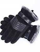 Недорогие -Полныйпалец Муж. Мотоцикл перчатки Кожа Сенсорный экран / Дышащий / Сохраняет тепло