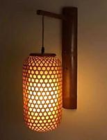 Недорогие -Творчество Ретро Настенные светильники Столовая / В помещении Дерево / бамбук настенный светильник 220-240Вольт 40 W
