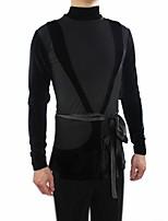 abordables -Danse latine Hauts Homme Utilisation Polyester / Coton Ceinture / Ruban / Combinaison Manches Longues Haut