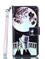Недорогие -Кейс для Назначение Apple iPhone XR / iPhone XS Max Кошелек / Бумажник для карт / Защита от удара Чехол Животное Твердый Кожа PU для iPhone XS / iPhone XR / iPhone XS Max
