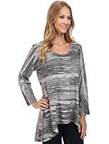 Недорогие -женская хлопковая тонкая футболка - сплошной цвет шею