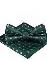 Недорогие -Муж. Классический Платок / аскотский галстук Цветочный принт / Контрастных цветов