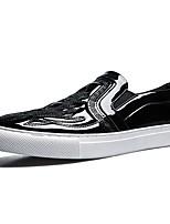 Недорогие -Муж. Комфортная обувь Полиуретан Весна & осень Мокасины и Свитер Черный