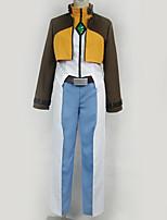 Недорогие -Вдохновлен Gundam Косплей Аниме Косплэй костюмы Косплей Костюмы Разные цвета Кофты / Брюки / Больше аксессуаров Назначение Муж. / Жен.