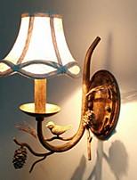 Недорогие -Cool Традиционный / классический Настенные светильники Спальня / Кабинет / Офис Металл настенный светильник 220-240Вольт