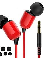 abordables -JTX Dans l'oreille Câblé / Câble Ecouteurs Ecouteur Polyester Téléphone portable Écouteur Design nouveau / Stereo / Confortable Casque