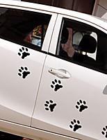 Недорогие -Белый / Черный Автомобильные наклейки Мультяшная тематика / Спорт / Симпатичные Стиль Дверные наклейки / Наклейки для автомобилей Мультипликация Стикеры