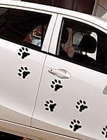 baratos -Branco / Preto Adesivos Decorativos para Carro Desenho / Esportes / Estilo bonito Porta Adesivos / Cauda Do Carro Autocolantes Desenho Animado Adesivos