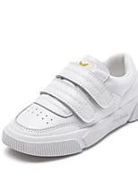 Недорогие -Мальчики / Девочки Обувь Кожа Весна & осень Удобная обувь Кеды для Дети Белый / Черный