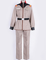 Недорогие -Вдохновлен Gundam Косплей Аниме Косплэй костюмы Косплей Костюмы Однотонный Кофты / Брюки / Больше аксессуаров Назначение Муж. / Жен.