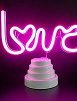 Недорогие -1шт LOVE LED Night Light Розовый USB Творчество <=36 V