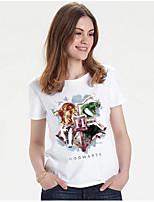 Недорогие -женская хлопковая тонкая футболка с геометрическим вырезом