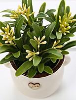 Недорогие -Искусственные Цветы 1 Филиал Классический Простой стиль Вечные цветы Ваза Букеты на стол