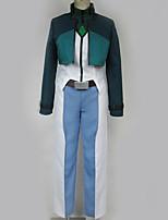 Недорогие -Вдохновлен Gundam Косплей Аниме Косплэй костюмы Косплей Костюмы Особый дизайн Жилетка / Кофты / Брюки Назначение Муж. / Жен.