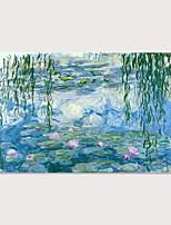 Недорогие -С картинкой Отпечатки на холсте - Известные картины Пейзаж Modern