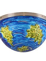 Недорогие -ZHISHU 3-Light геометрический / Оригинальные Потолочные светильники Потолочный светильник Окрашенные отделки Металл Творчество, Новый дизайн 110-120Вольт / 220-240Вольт