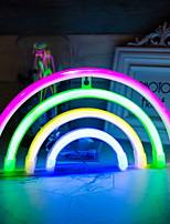 baratos -1pç LED Night Light Colorido Baterias AA alimentadas Criativo <5 V
