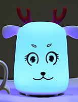 Недорогие -1шт Детский ночной свет Поменять USB обожаемый 5 V