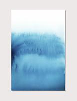 Недорогие -С картинкой Отпечатки на холсте - Абстракция Modern