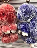 Недорогие -Rabbit Мягкие и плюшевые игрушки Животные Очаровательный Мех Хлопок Все Игрушки Подарок 1 pcs