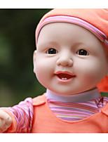 Недорогие -KIDDING Куклы реборн Мальчики 24 дюймовый Полный силикон для тела Силикон Винил - как живой Ручная Pабота Очаровательный Дети / подростки Детские Универсальные Игрушки Подарок