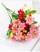 Недорогие -Искусственные Цветы 4.0 Филиал Классический Деревня Свадьба Ромашки Букеты на стол