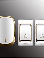Недорогие -Factory OEM Беспроводное Двойной к одному дверному звонку Музыка / Дзынь-дзынь Невизуальные дверной звонок