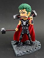 Недорогие -Аниме Фигурки Вдохновлен One Piece Roronoa Zoro ПВХ 14 cm См Модель игрушки игрушки куклы