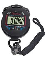 Недорогие -жк-хронограф цифровой таймер спортивный секундомер профессиональный ручной цифровой секундомер работает счетчик хронографа с ремешком