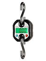 Недорогие -150кг 50г прочный цифровой подвесной крюк весы кран баланс светодиодная подсветка