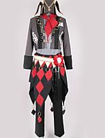 Недорогие -Вдохновлен Косплей Косплей Аниме Косплэй костюмы Косплей Костюмы С узором / Геометрический рисунок Пальто / Кофты / Брюки Назначение Муж. / Жен.