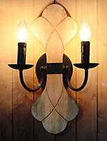 Недорогие -Творчество Традиционный / классический Настенные светильники Спальня / В помещении Металл настенный светильник 220-240Вольт 40 W