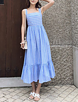 Недорогие -Жен. Классический Оболочка Платье Макси