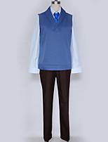 Недорогие -Вдохновлен Косплей Косплей Аниме Косплэй костюмы Косплей Костюмы Английский Жилетка / Блузка / Кофты Назначение Муж. / Жен.