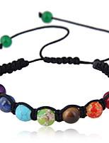 Недорогие -женский цветной / простой браслет из смолы