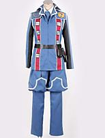 Недорогие -Вдохновлен Косплей Косплей Аниме Косплэй костюмы Косплей Костюмы Особый дизайн Пальто / Кофты / Брюки Назначение Муж. / Жен.