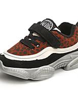 Недорогие -Мальчики Обувь Замша Наступила зима Удобная обувь Спортивная обувь Беговая обувь для Для подростков Черный / Цвет-леопард