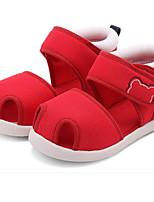 Недорогие -Девочки Обувь Сетка Лето Удобная обувь / Обувь для малышей Сандалии для Дети (1-4 лет) Темно-синий / Красный / Розовый