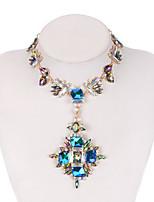Недорогие -Жен. Мода / Цветной ожерелья Радужный