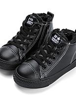 Недорогие -Мальчики Обувь Синтетика Зима Удобная обувь Кеды для Дети / Для подростков Белый / Черный / Красный