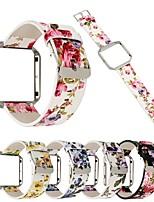 Недорогие -Ремешок для часов для Fitbit Blaze Fitbit Классическая застежка Натуральная кожа Повязка на запястье