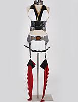 Недорогие -Вдохновлен Kantai Collection Косплей Аниме Косплэй костюмы Косплей Костюмы Особый дизайн Кофты / Юбки / Перчатки Назначение Муж. / Жен.