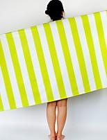 Недорогие -Высшее качество Банное полотенце, Полоски / Геометрический принт Полиэстер / хлопок Ванная комната 1 pcs