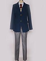 Недорогие -Вдохновлен Косплей Косплей Аниме Косплэй костюмы Косплей Костюмы Английский Пальто / Жилетка / Блузка Назначение Муж. / Жен.