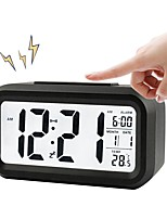 Недорогие -Брелонг цифровой месяц температура дата показывает дремать будильник ночной свет