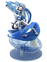 Недорогие -Аниме Фигурки Вдохновлен Вокалоид Snow Miku ПВХ 25 cm См Модель игрушки игрушки куклы