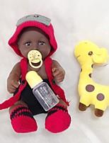 Недорогие -Куклы реборн Мальчики Африканская кукла 20 дюймовый как живой Очаровательный Дети / подростки Детские Универсальные Игрушки Подарок